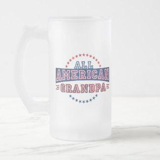 All-American Grandpa Glass Mug