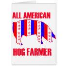 ALL AMERICAN HOG FARMER CARD