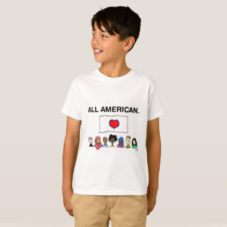 All American Kid's T-Shirt