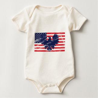 All American Patriots Baby Bodysuit