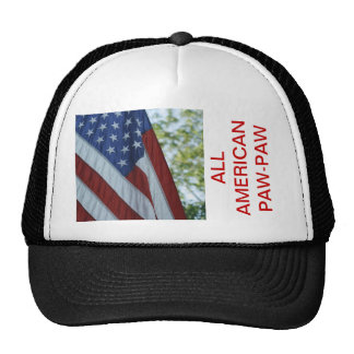 ALL AMERICAN PAW-PAW HAT TEMPLATE