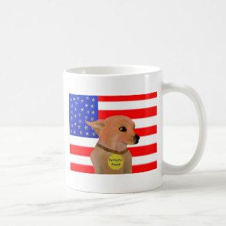 All American Pooch Basic White Mug