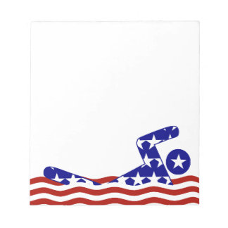 All-American Swimmer Notepad