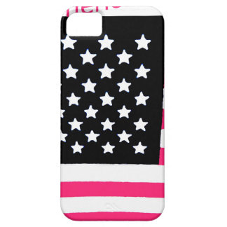 All American USA Flag for Girls iPhone 5 Case