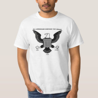 ALL AMERICAN VINTAGE TOY GROUP T SHIRTS