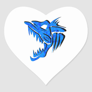 ALL ANGLERS UNDERSTAND HEART STICKER
