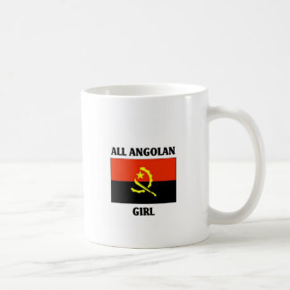 All Angolan Girl Basic White Mug