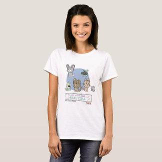 All Animals Are Beautiful by Genesis Benevidas T-Shirt