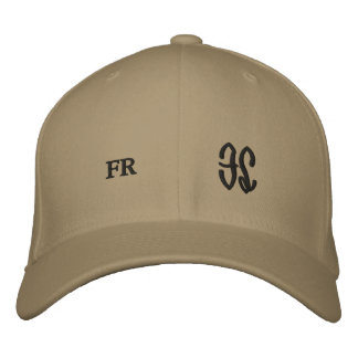 all areas save front middle embroidered hat