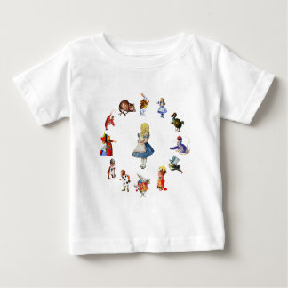 ALL AROUND ALICE IN WONDERLAND BABY T-Shirt