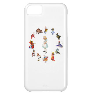 All Around Alice In Wonderland iPhone 5C Case
