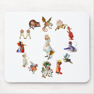 All Around Alice in Wonderland Mouse Pad
