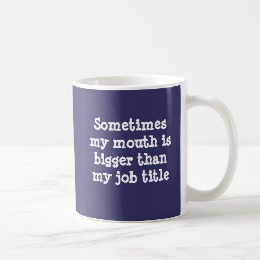 All Around Big Mouth Mug