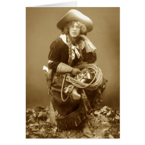 All-Around Cowgirl Greeting Card