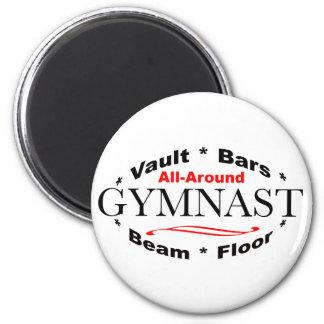 All-Around Gymnast Magnet