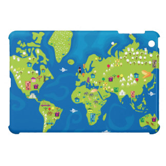 All Around the World Cover For The iPad Mini