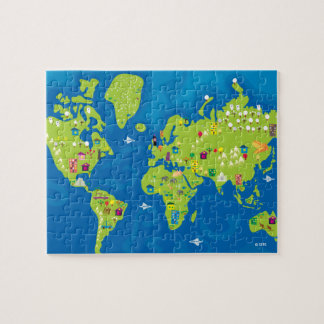All Around the World Puzzle