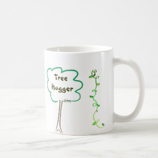 All Around Tree Hugger w/ Vines Coffee Cup