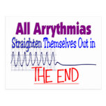 All arrhythmias straighten themselves out END Postcard