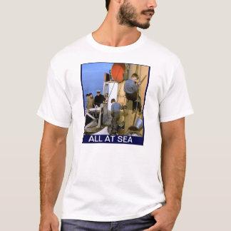 All at sea, Arethusa boys on Glenstrathallan T-Shirt