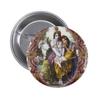 All-Attractive Couple 6 Cm Round Badge