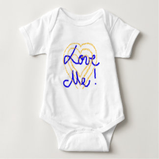 All baby's need to be loved ! baby bodysuit