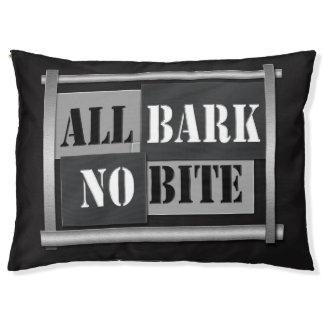All bark no bite.