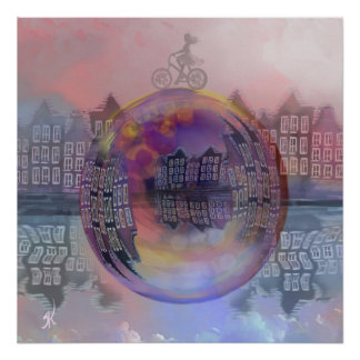 All bubbles are magical poster
