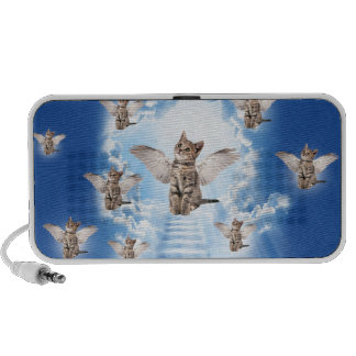 All Cats Go to Heaven Mini Speakers