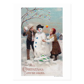 All Christmas Joy Be Yours Postcard