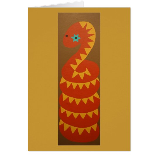 All Coiled Up Card