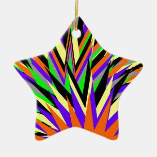 all colors ceramic star decoration