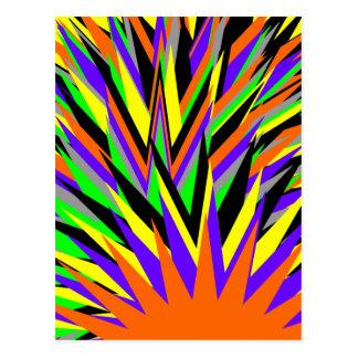 all colors postcard