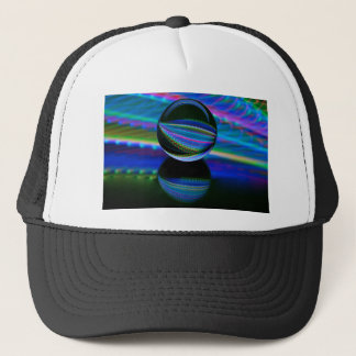 All colours in the crystal ball trucker hat