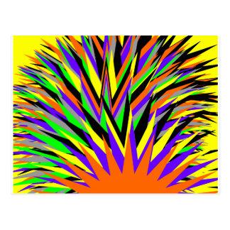 all colours postcard