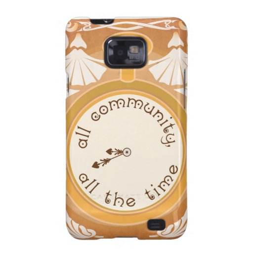 All Community, All the Time Galaxy S2 Case