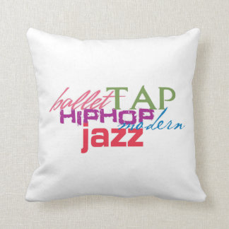 All Dances Throw Pillow