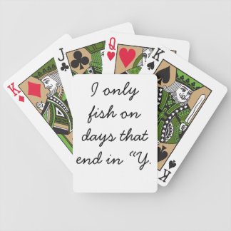 All day bicycle playing cards