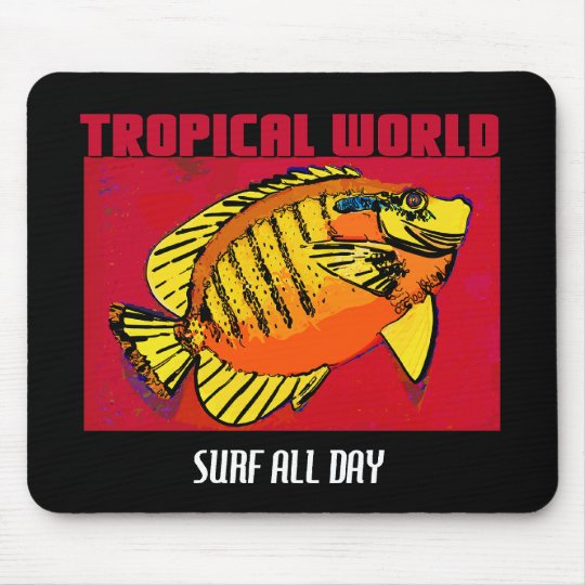 ALL DAY SURF MOUSE MAT
