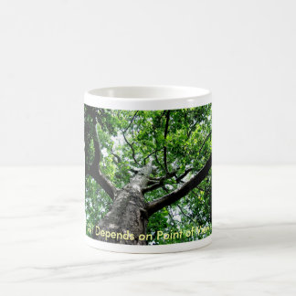 All Depends on Point of View Basic White Mug
