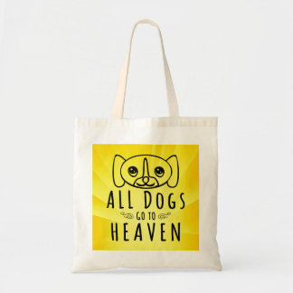 All Dogs Go to Heaven Budget Tote Bag