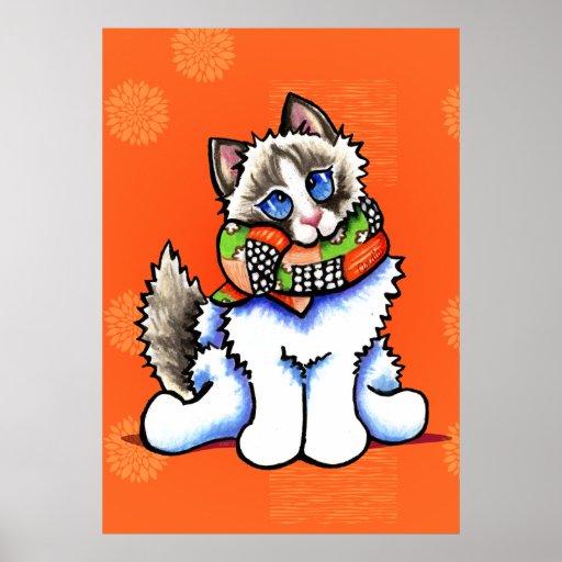 All Dolled Up Ragdoll Cat Off-Leash Art™ Print