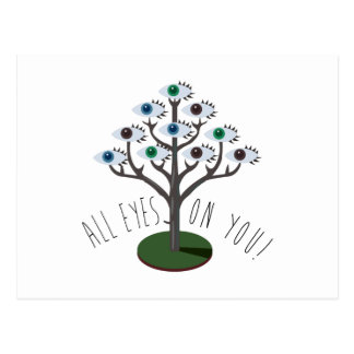 All Eyes on You Postcard