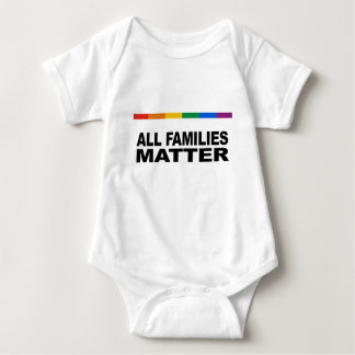 All families matter baby bodysuit