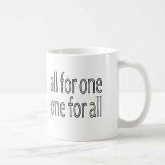 All for One Un Pour Tous Mug