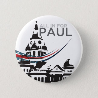 All For Paul - Courthouse Button