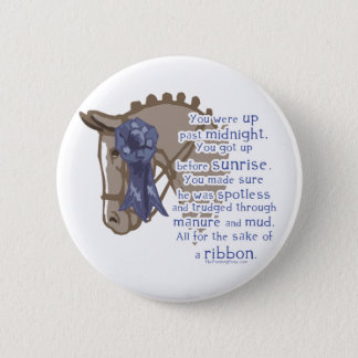 All For The Ribbon 6 Cm Round Badge