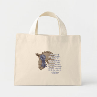 All For The Ribbon Mini Tote Bag