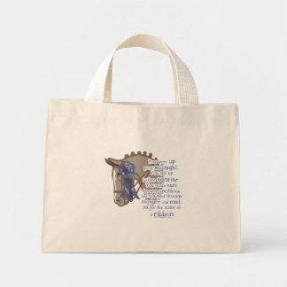All For The Ribbon Mini Tote Bag