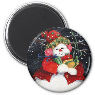 ALL FOR YOU 6 CM ROUND MAGNET